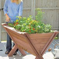 Garden Wedge Vegetable Planter