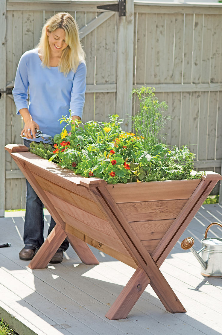 Garden Wedge Vegetable Planter