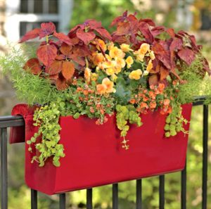 Viva Deck Railing Planter